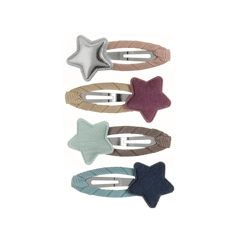 Muted Tokyo Star Hair clips