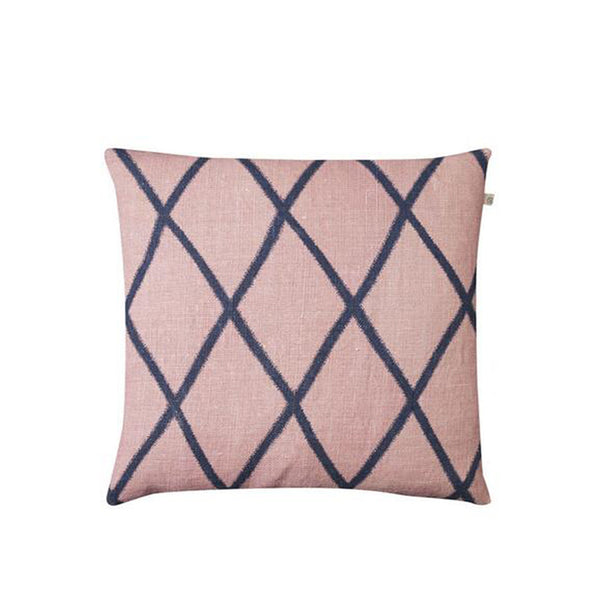 IKAT Orissa Cushion - Pink & Blue