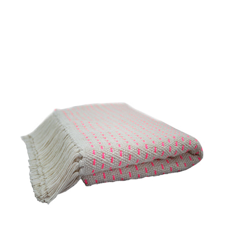 Pink Point Throw