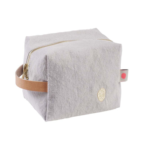 Pale Grey Washbag