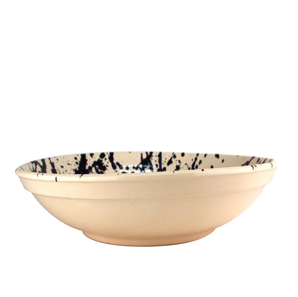 Navy Splatter Bowl