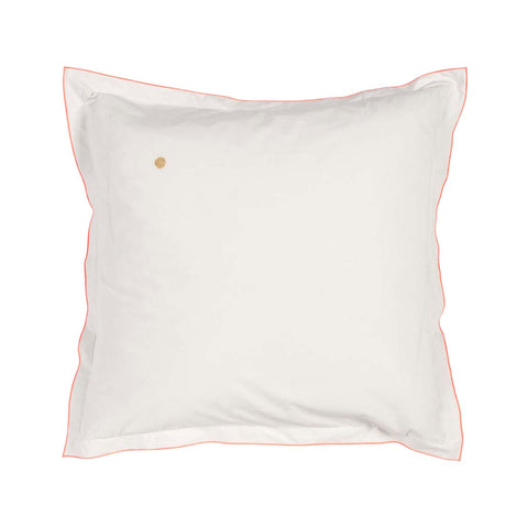 Square Fluro Trim Pillow Case