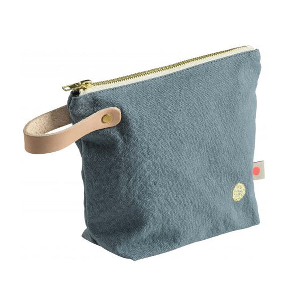 Small Washbag with Handle - Teale