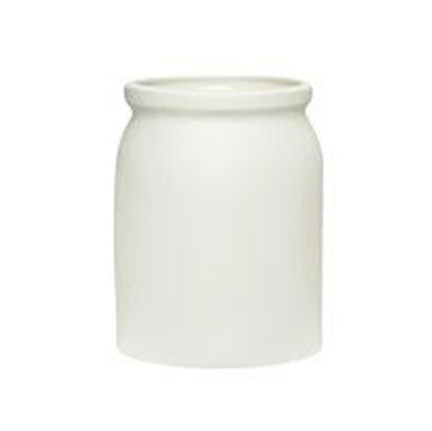 White Ceramic Pot (large)