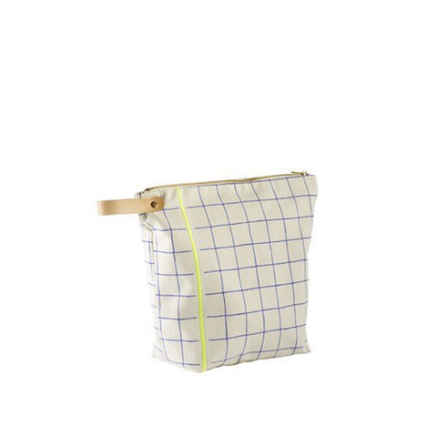 Check & Striped Washbag