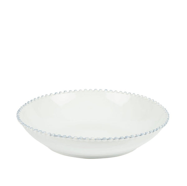 White Bobbled Serving Bowl