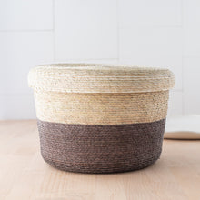 Load image into Gallery viewer, Tambo Basket With Cover piedra