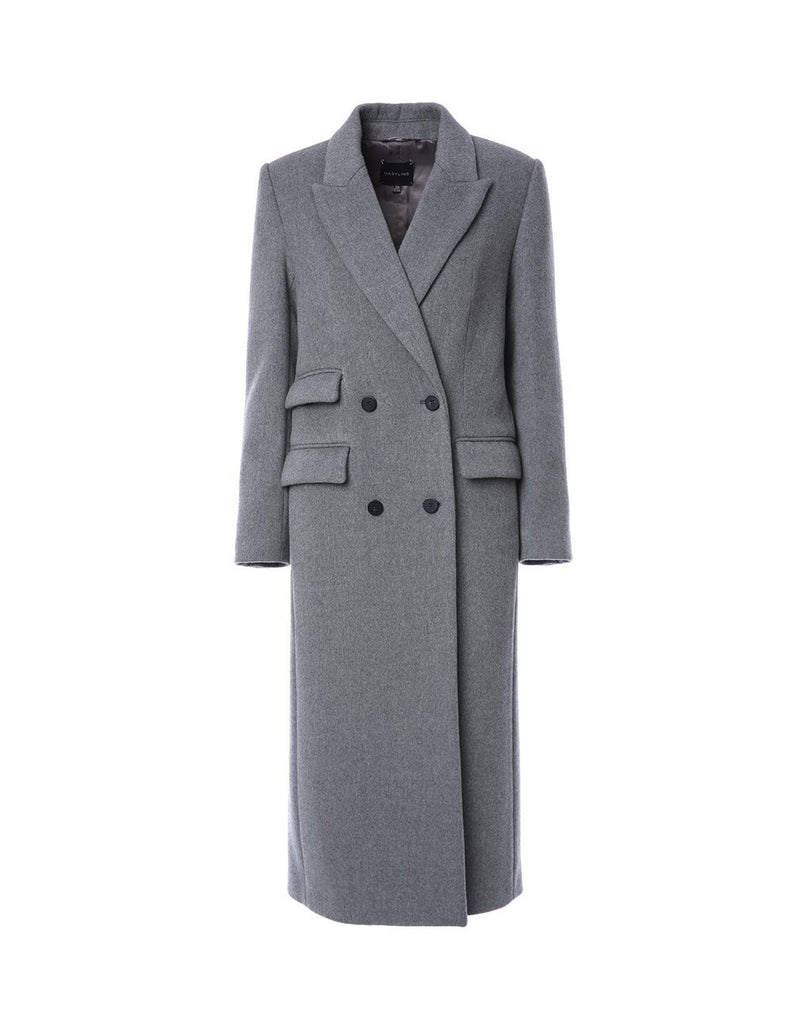 Classic tailored wool coat (5561354387616)