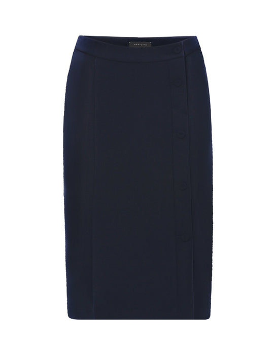 MARYLING Classic Slim Fit Suit Pencil Skirt