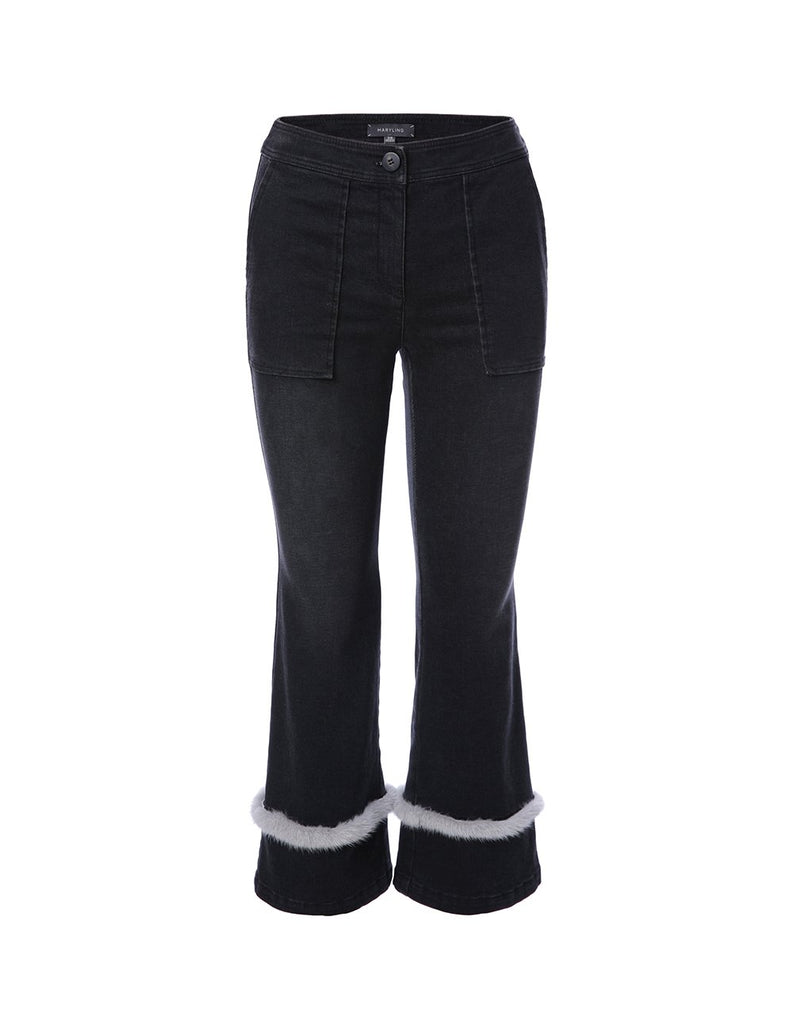 lared jean with fur trim (5561349243040)