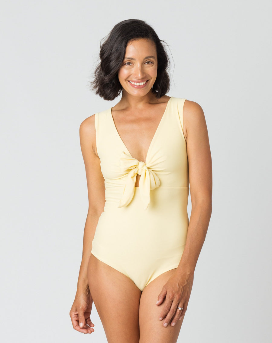 Fleur One Piece in Citrine