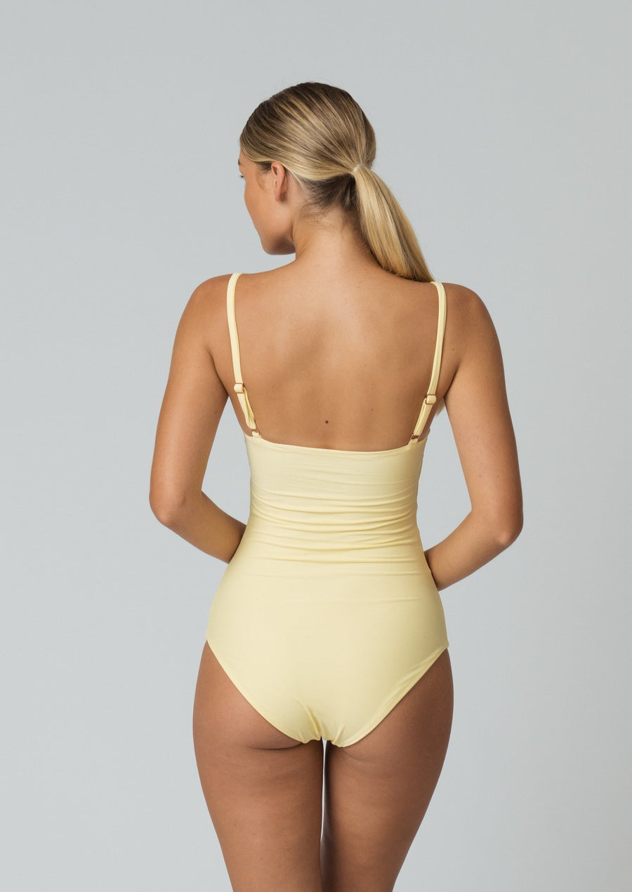 Lisa One Piece in Citrine