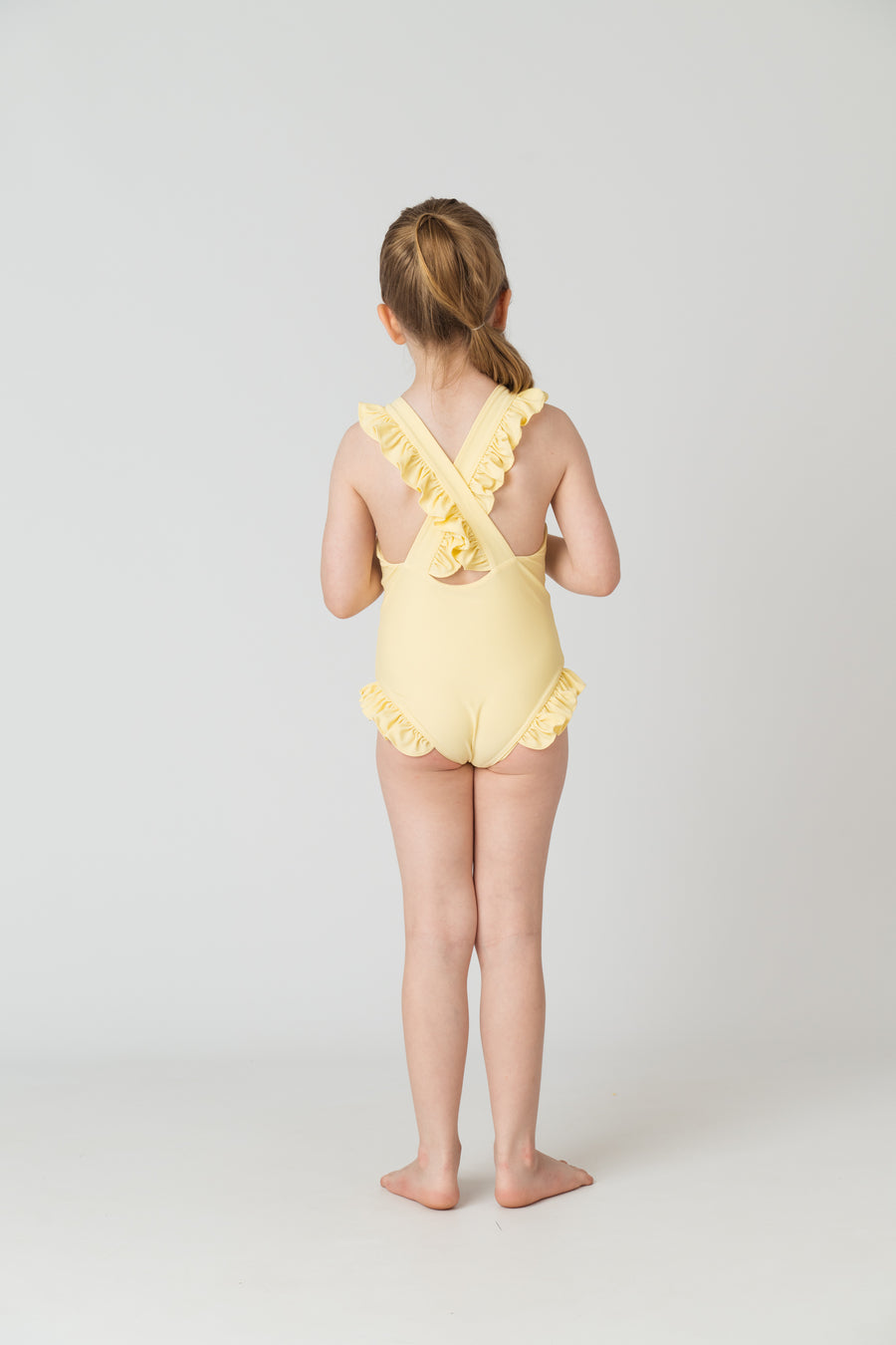 Tabitha Girls One Piece in Citrine