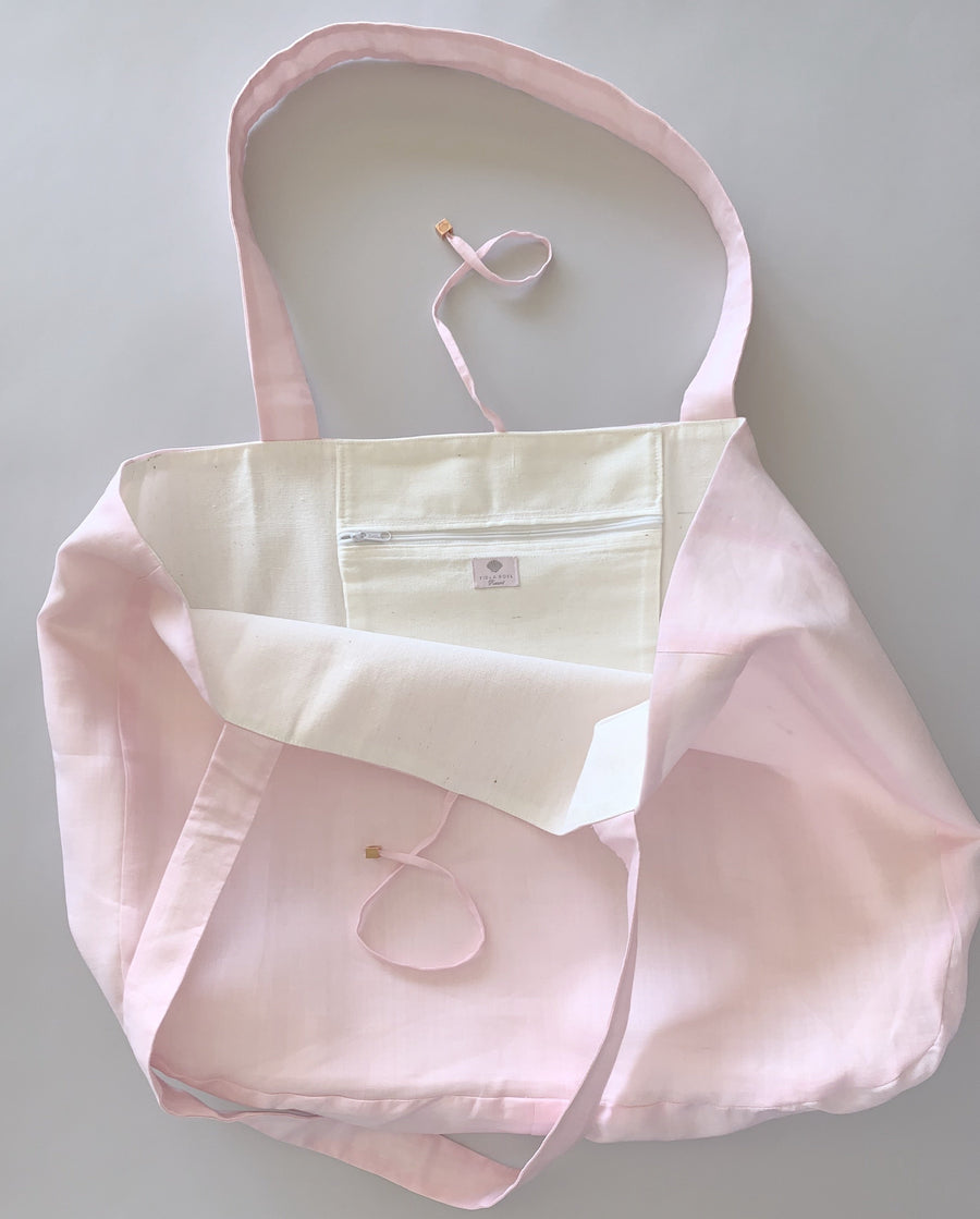 Linen Everything Bag