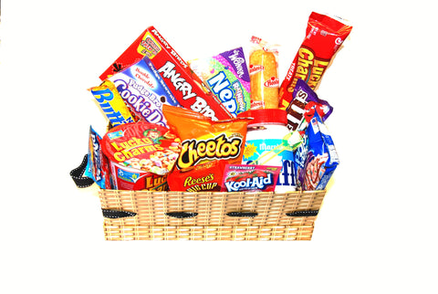 Gift boxes retro sweet hampers traditional sugar free sweet 6erican hamper negle Images