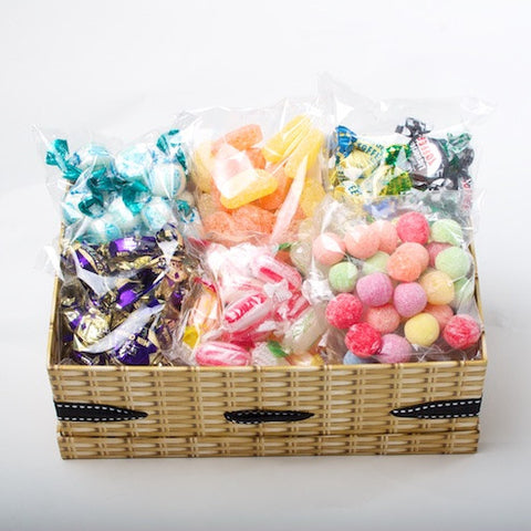 Gift boxes retro sweet hampers traditional sugar free sweet traditional hamper negle Image collections