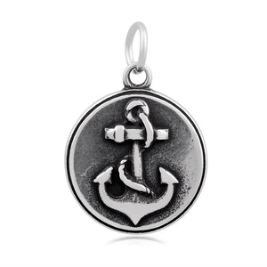 Anchor Cross Charm