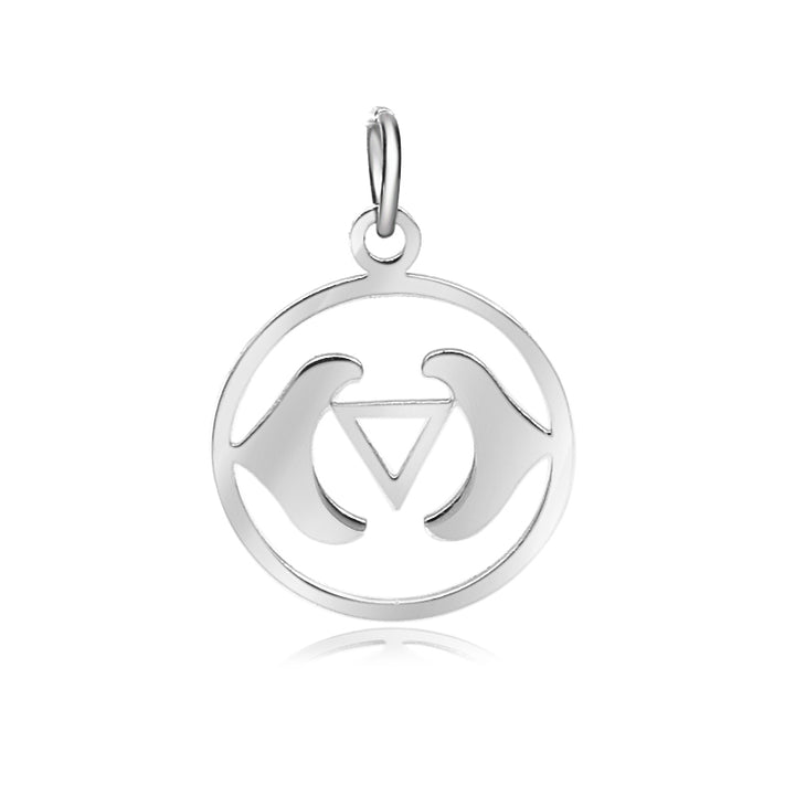 6th Chakra, Ajna, Charm Me Stainless Steel Necklace
