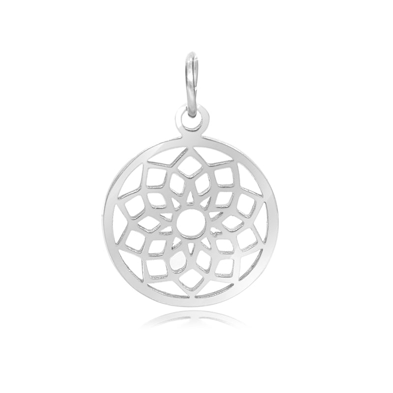 7th Chakra, Sahaswara, Charm Me Stainless Steel Necklace