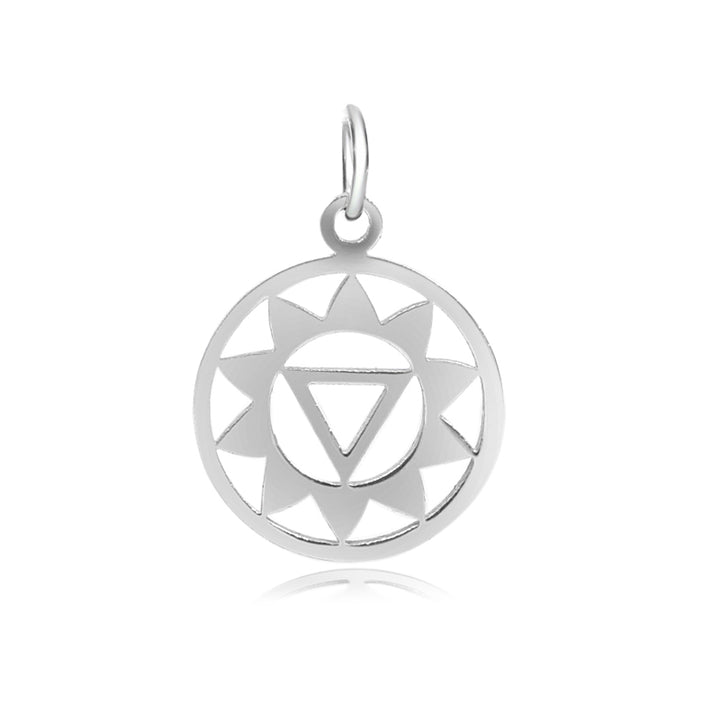 3rd Chakra, Manipura, Charm Me Stainless Steel Necklace