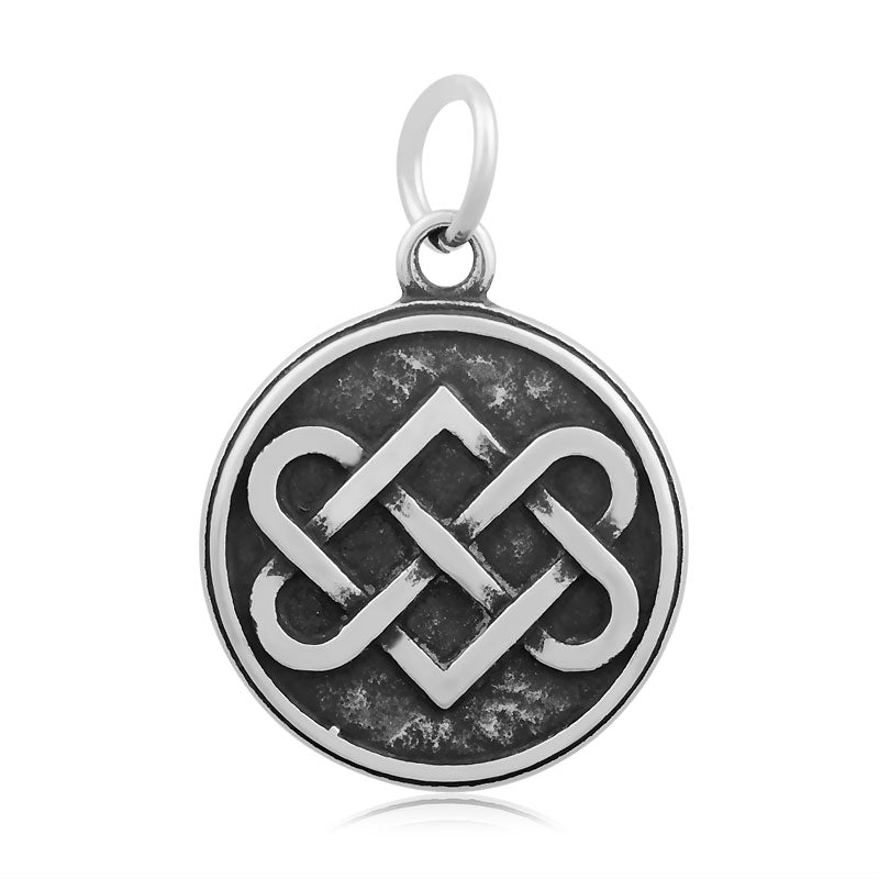 Celtic Knot of Hearts Charm