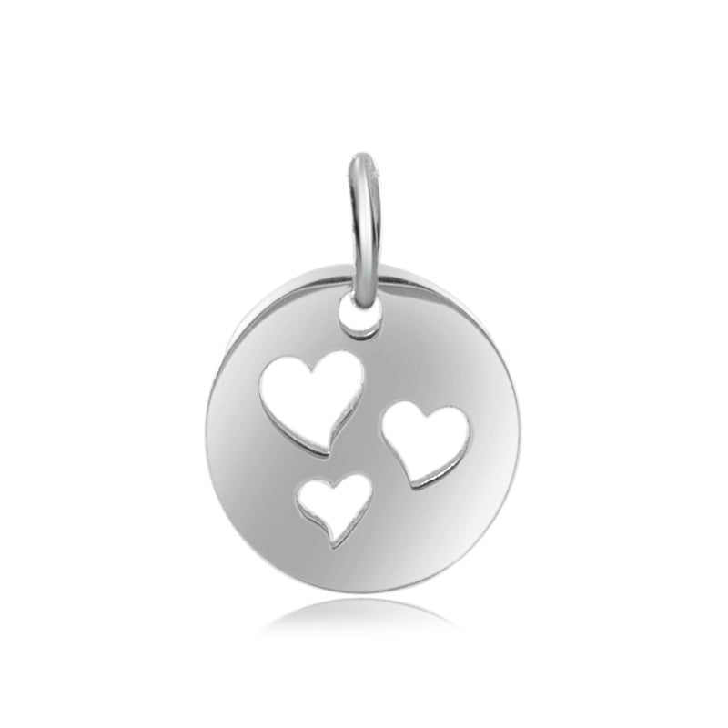 Floating Hearts Charm