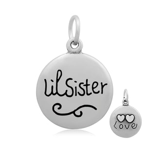 Lil' Sister Love Charm