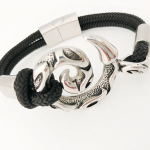 Ketu Dragons Tail Stainless Steel Bullmaster Bracelet