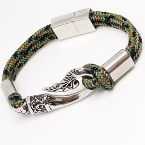 Bali Fish Hook Stainless Steel Bullmaster Bracelet