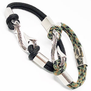 Maui Fish Hook Bullmaster Stainless Steel Bracelet