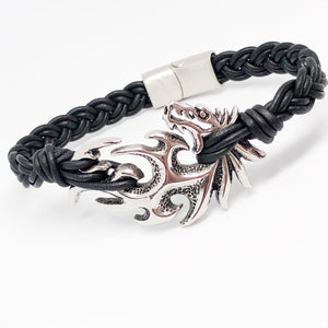 Dragon Stainless Steel Bullmaster Bracelet