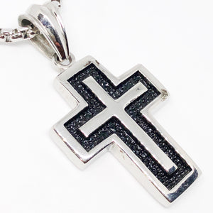 Basic Cross Stainless Steel Necklace