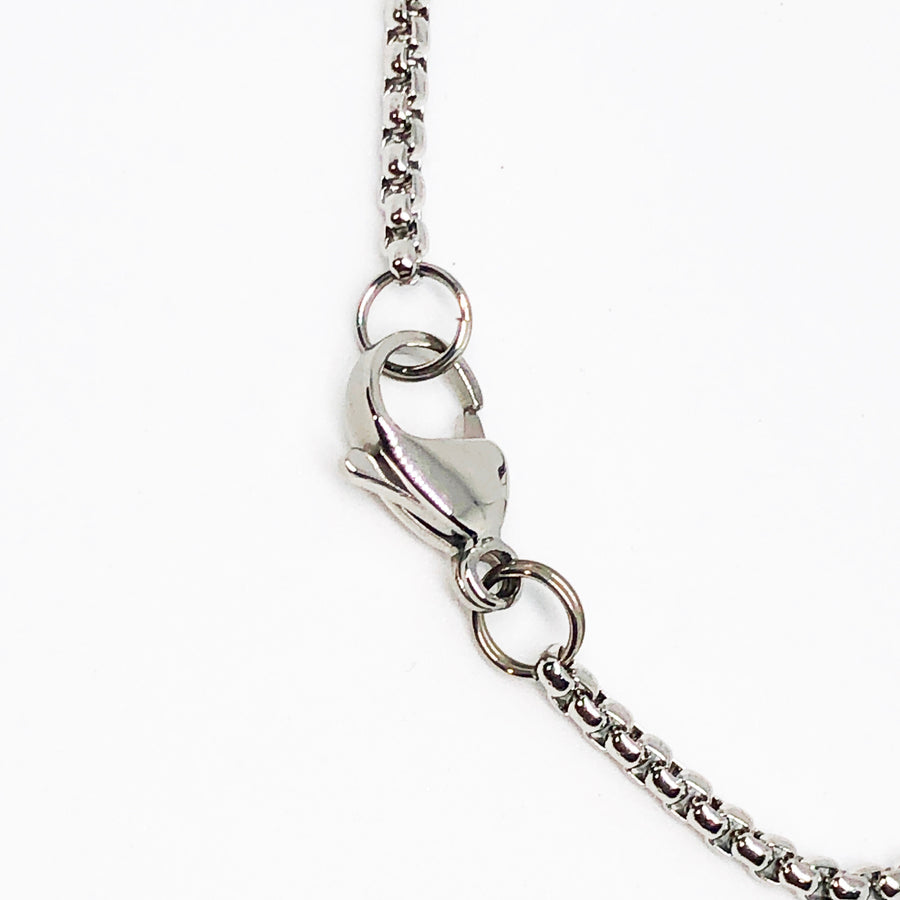 Nail Cross Stainless Steel Necklace
