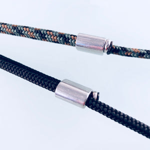 Cable Cross Stainless Steel Necklace