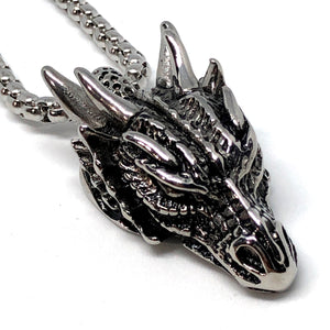 Dragon Head Stainless Steel Necklace