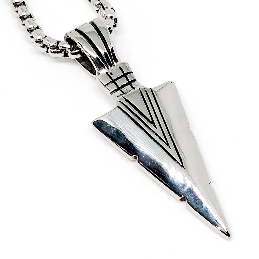 Arrowhead Stainless Steel Necklace