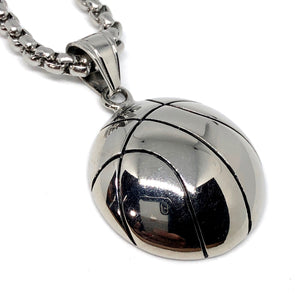 Basketball Stainless Steel Necklace