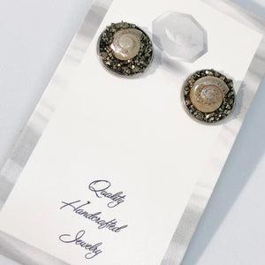 Baby Nautilus Shell Earrings