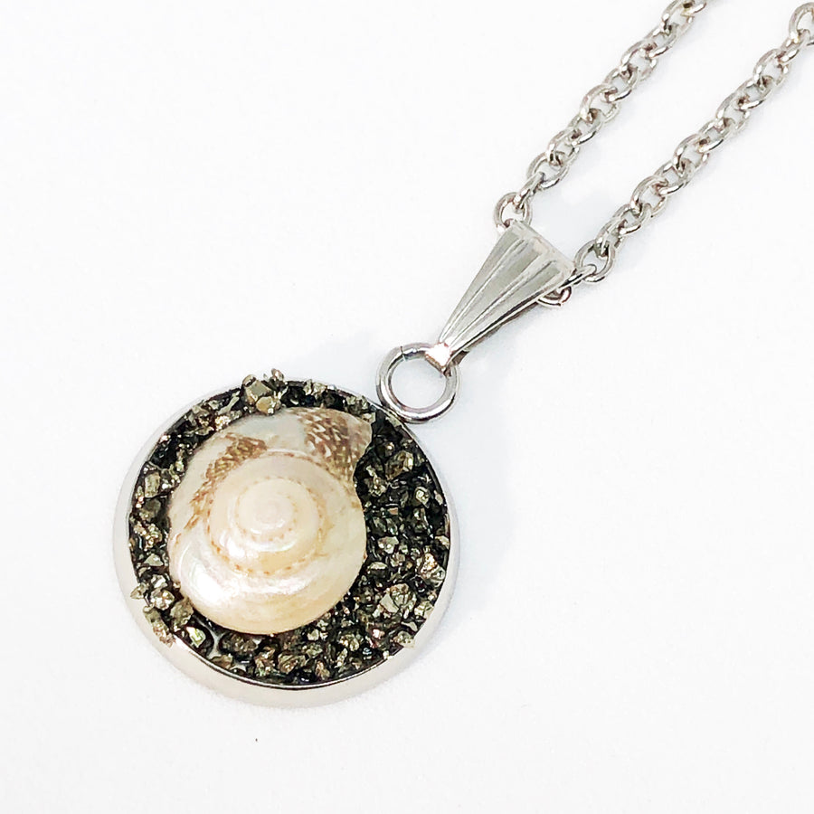 Baby Nautilus Shell Pendant Necklace
