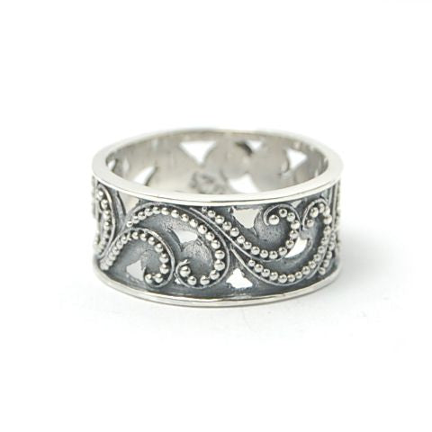 Traveling Vine Sterling Silver Ring