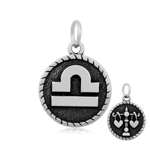 Libra The Scale Zodiac Charm