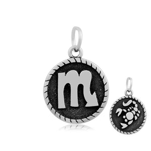 Scorpio The Scorpion Zodiac Charm Me