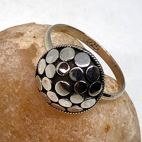 Rangoli Sterling Silver Ring