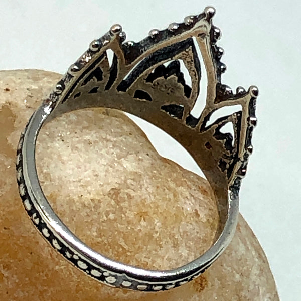 Tiara Sterling Silver Ring