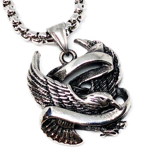 Flying Eagle Stainless Steel Necklace