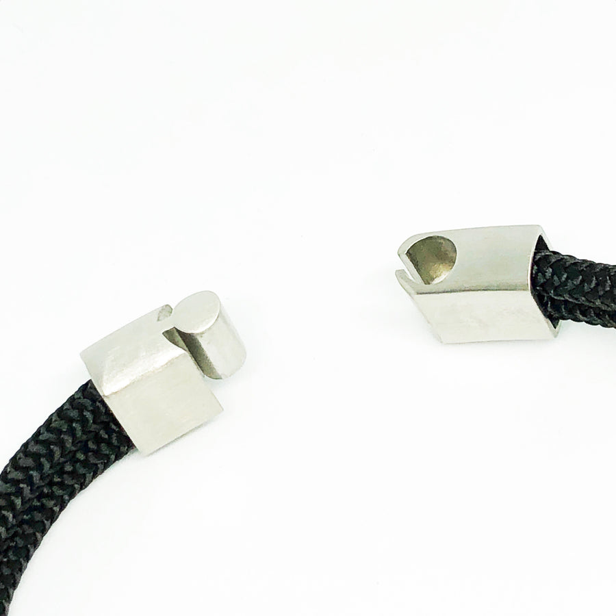 Bali Whale Tail Bullmaster Stainless Steel Bracelet