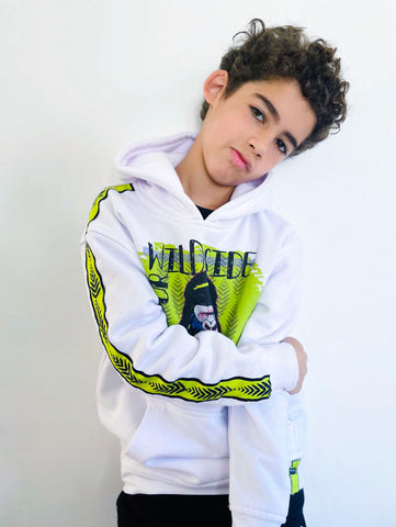 SUDADERA INFANTIL UNISEX YOUR WILD SIDE