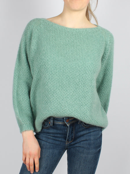 Pulli Strick mint