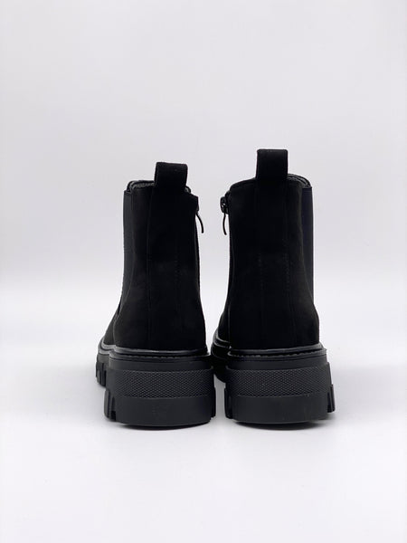 Chelsea-Boots Velours