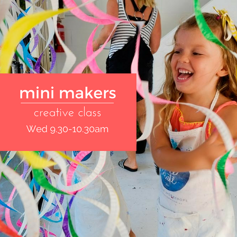 Mini Makers Craft | Wednesday